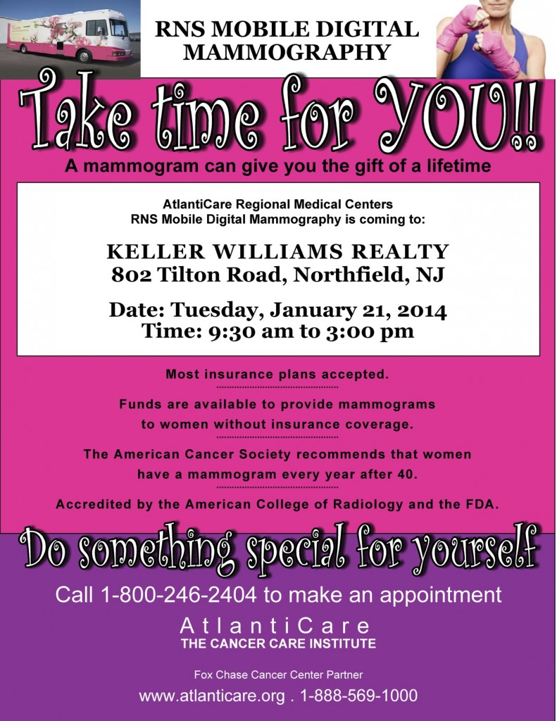 mammogram flyer