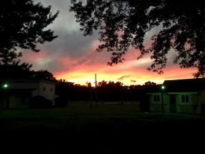 Sunset at Greentree Church, Egg Harbor Township, NJ