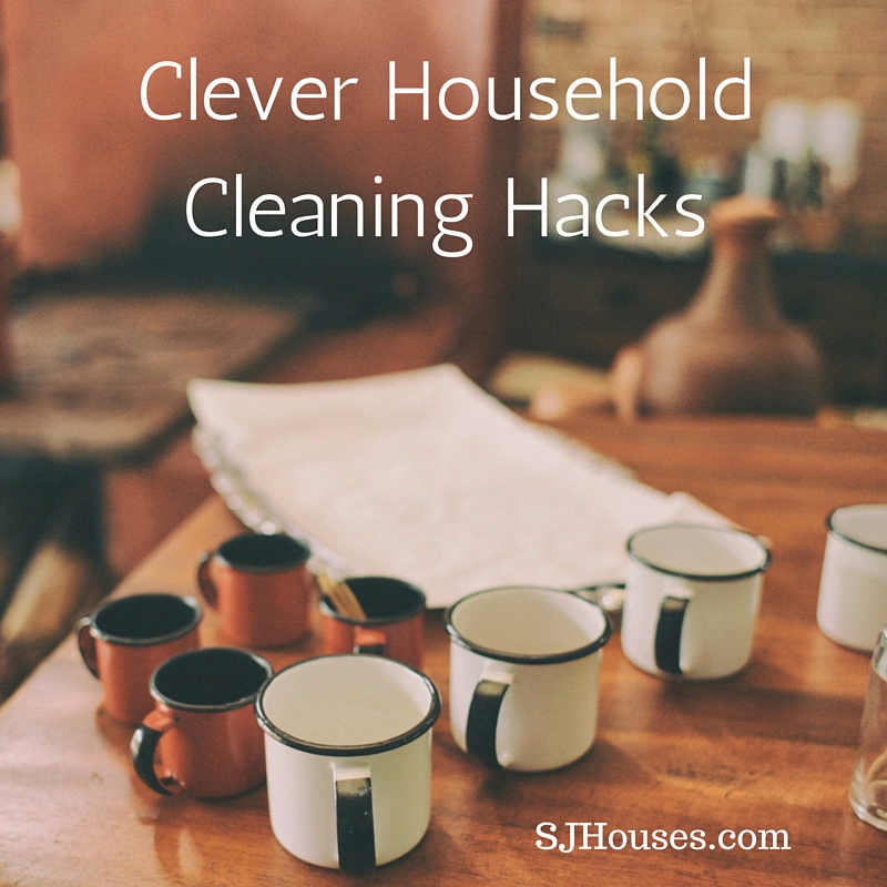 Clever Household Cleaning Hacks